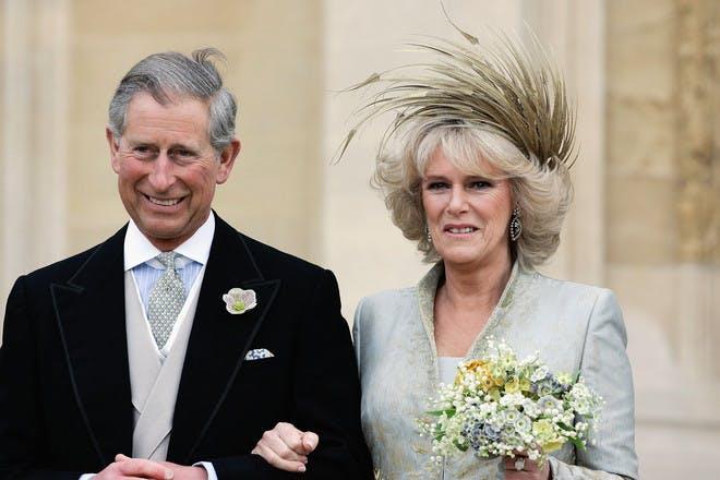 Camilla Charles wedding