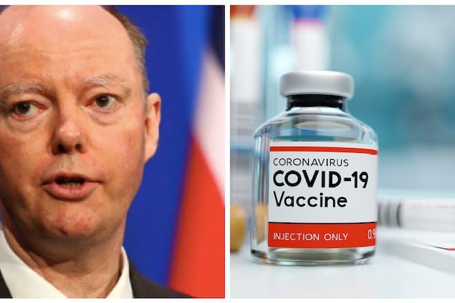Chris Whitty / COVID-19 vaccine