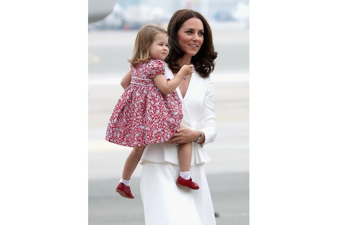 Princess Charlotte Duchess Kate