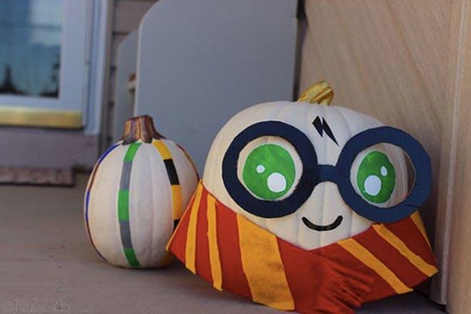 Mini Harry Potter pumpkin