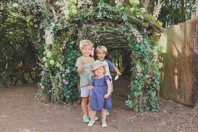孩子们喜欢在奥德利庄园探险