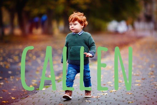 Baby name Callen