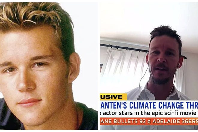 Ryan Kwanten then and now