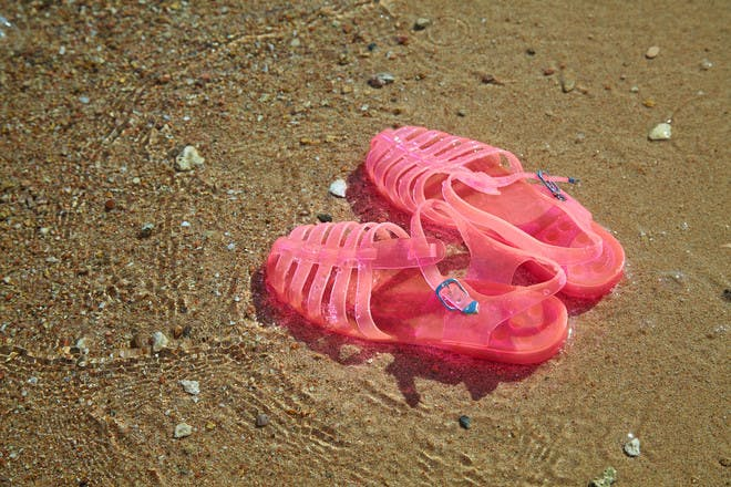 14. Jelly shoes