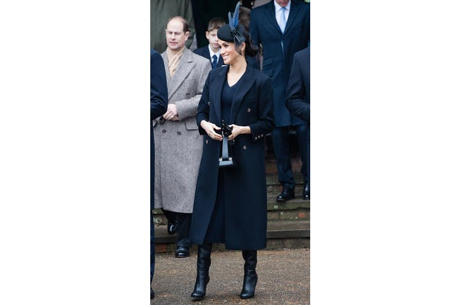 Meghan Markle pregnant at Christmas