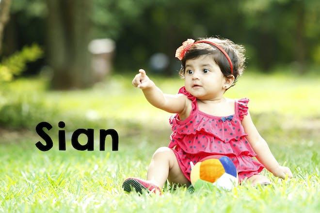 Sian baby name