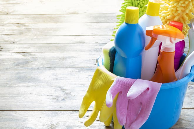 6. Household cleaners – replace every three months