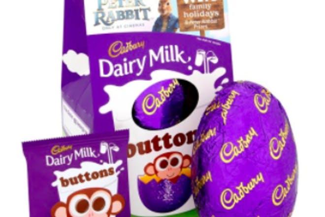 22. Dairy Milk Buttons