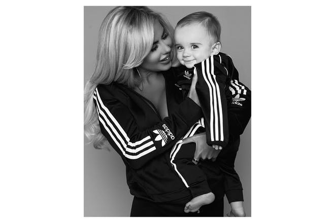 Hannah Elizabeth with her son Reggie
