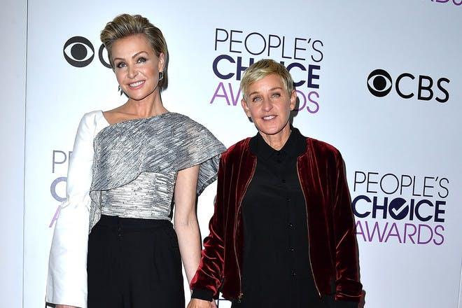 16. Ellen Degeneres and Portia de Rossi