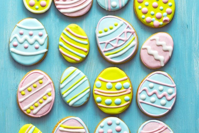 Easter egg biscuits recipe