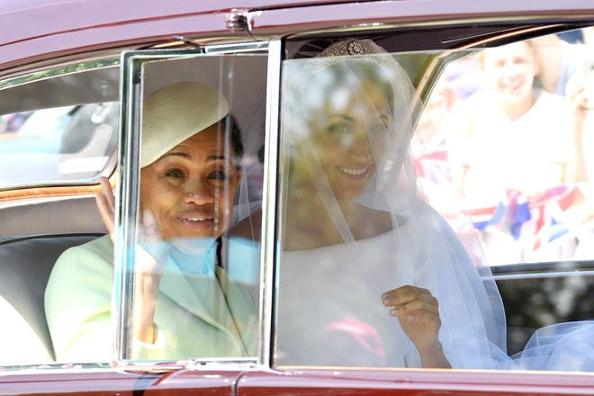 24. When Meghan and Doria set the precedent of what strong, independent women look like