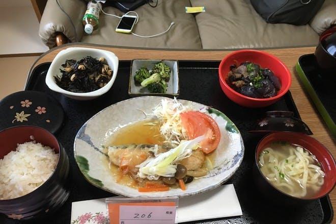 Japan hospital food