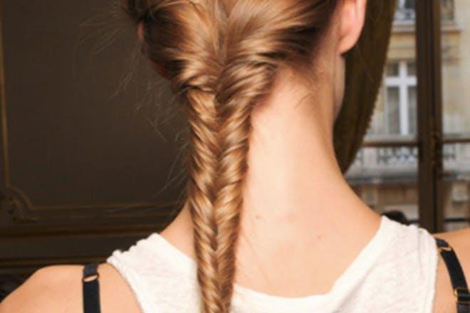 13. Fishtail braids