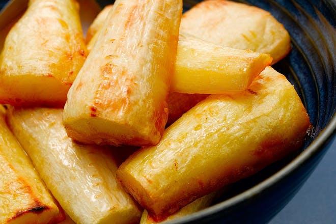 Classic roast parsnips