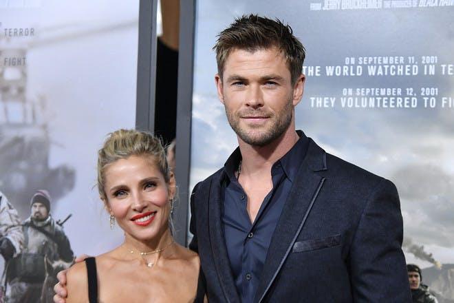 22. Chris Hemsworth and Elsa Pataky