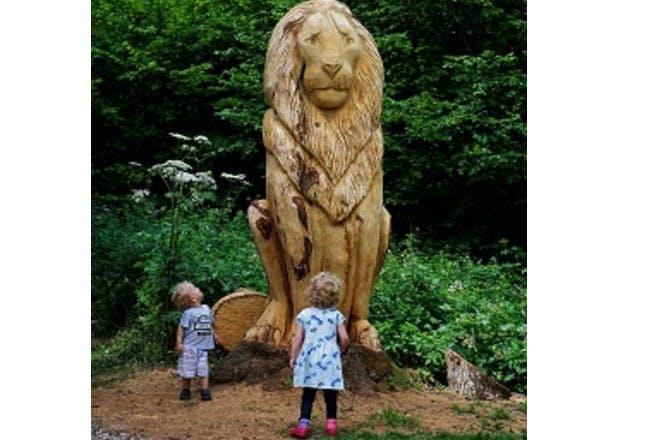 children at Narnia Trail