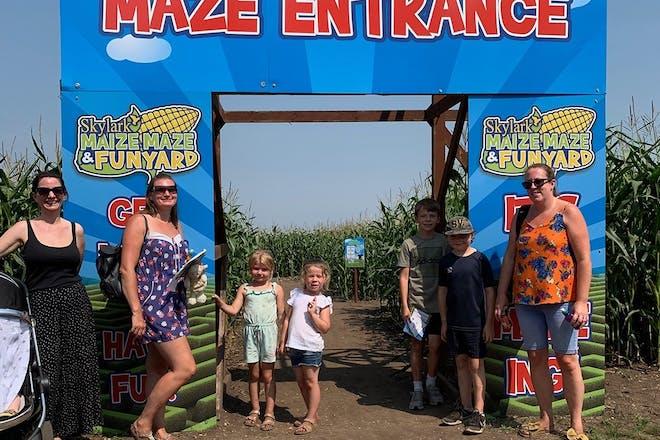 Maize Maze at Skylark