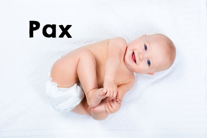 Pax baby name