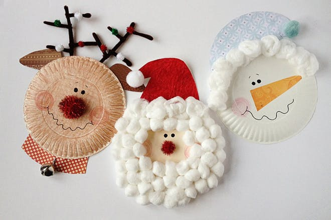27. Paper plate characters