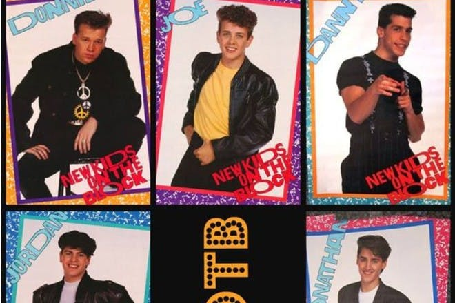 New kids on the block poster - Saved on Pinterest by Sonia