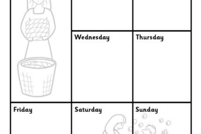 mum's weekly planner