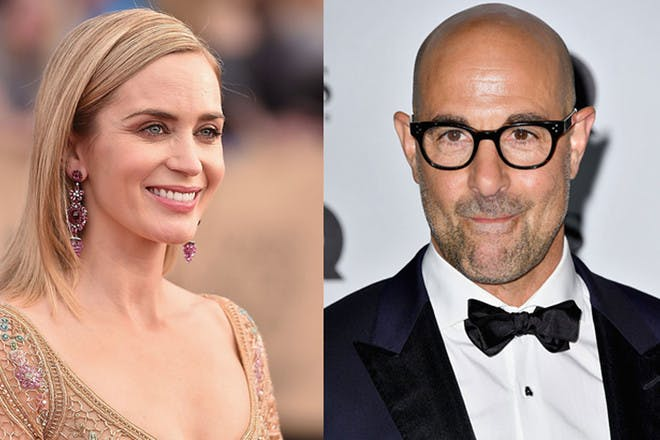 3. Emily Blunt and Stanley Tucci
