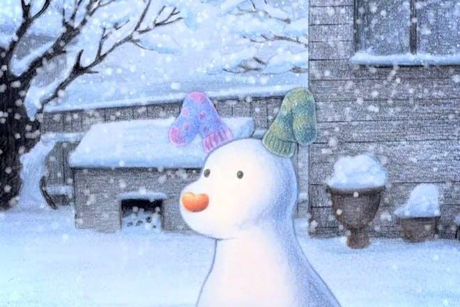 The Snowman and The Snowdog movie still