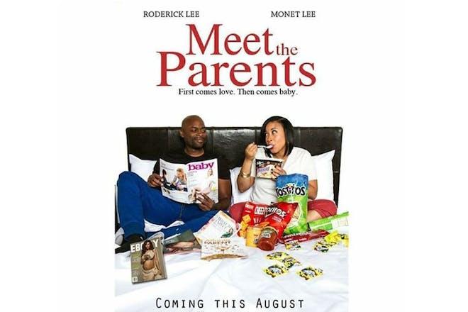 Film poster pregnancy announcement