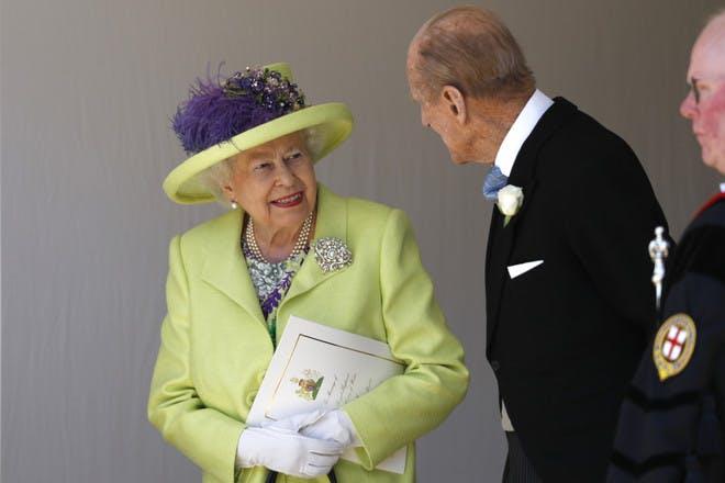 Queen Elizabeth II. and Prince Philip