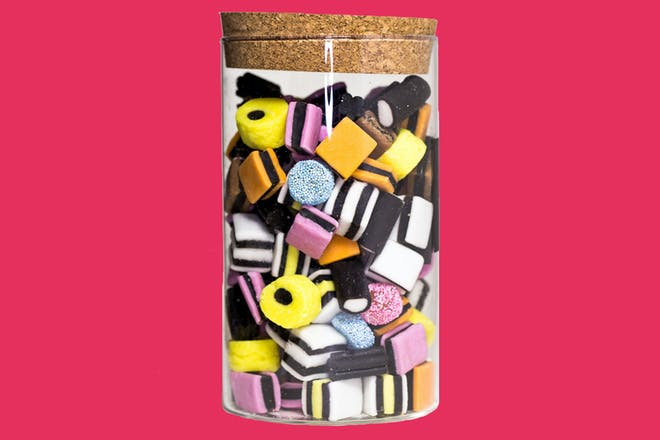 Jar of pick 'n' mix liquorice allsorts