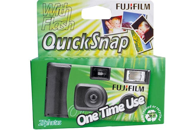 21. Using disposable cameras