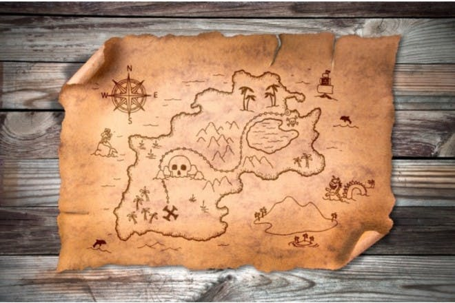 Make treasure maps