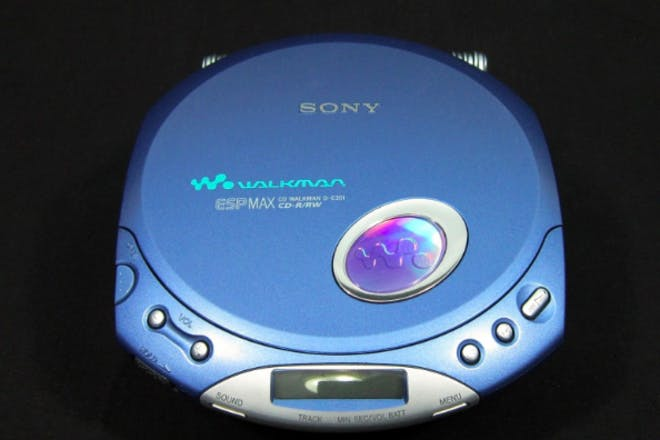 23. Listening to CDs on your Walkman