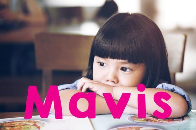 Baby name MAVIS