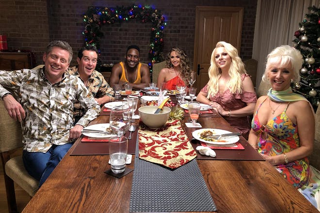 35. Celebrity Christmas Come Dine With Me
