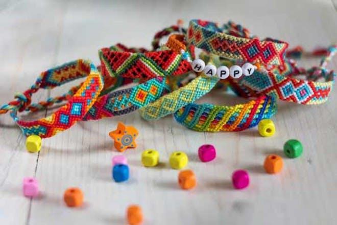15. Friendship bracelets