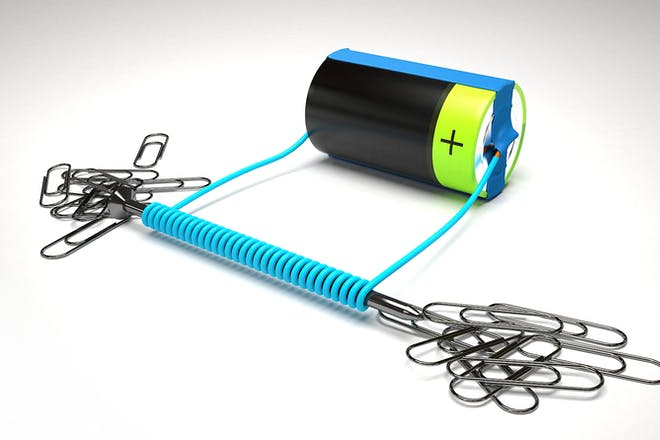Homemade electromagnet