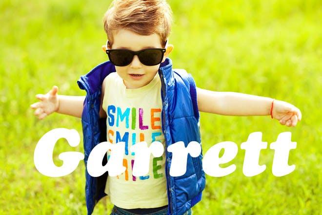 Baby name Garrett