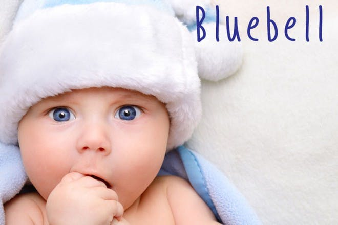 baby girl in hat