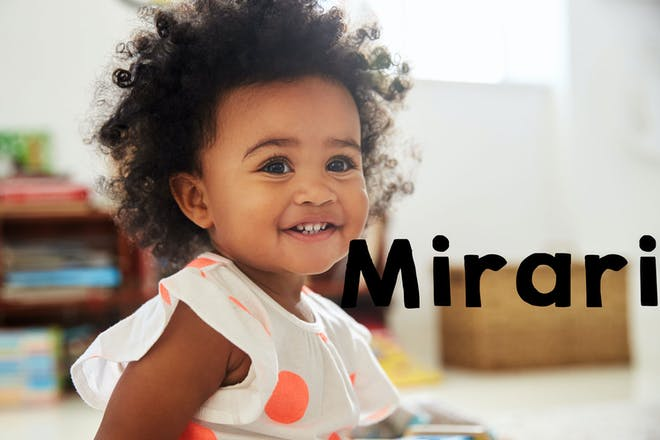 Mirari baby name