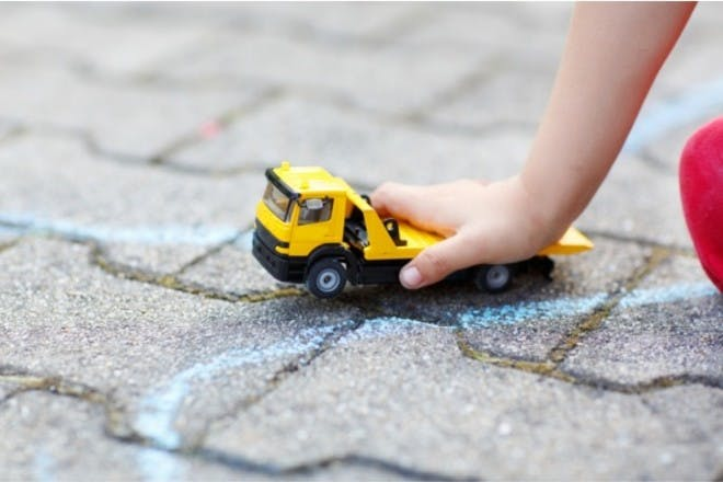 Make a road map for toy cars