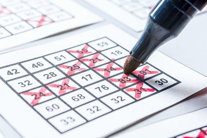 Bingo sheet and marker