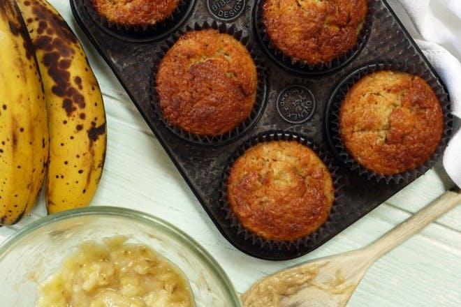 15. Banana muffins