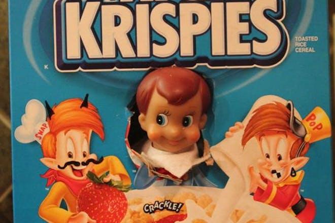 98. Rice Krispies Elf