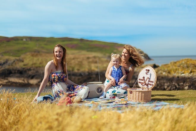 Family in the Isle of Man