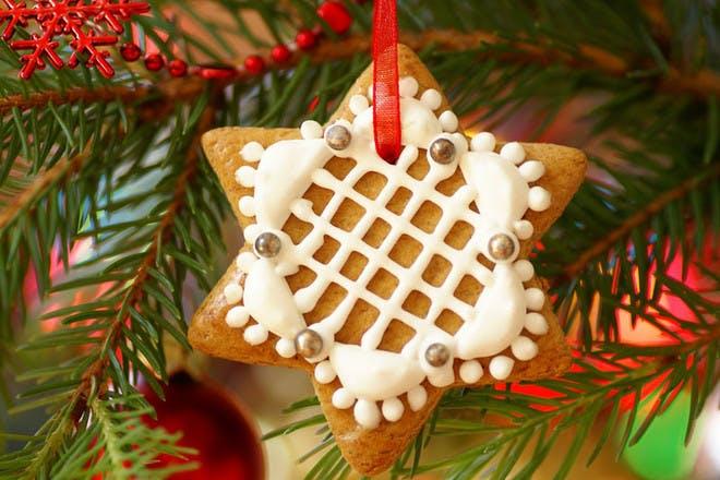 Gingerbread Christmas star