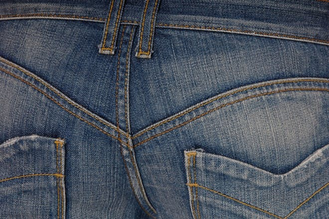 8. Tried to discreetly check the back of your trousers to see if you've leaked