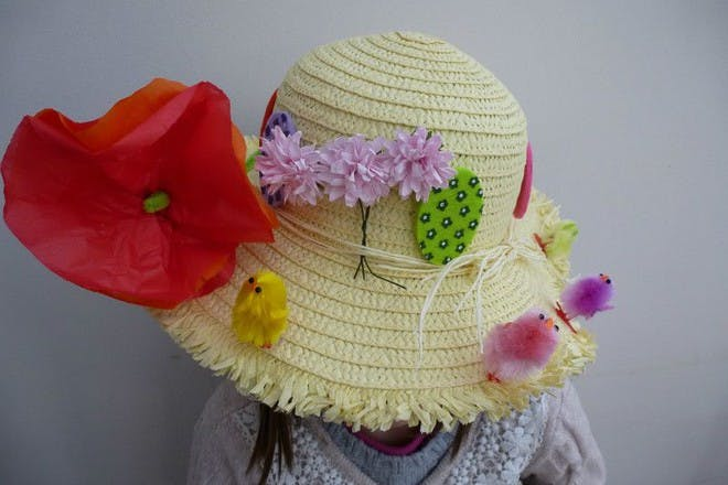 Traditional Easter bonnet
