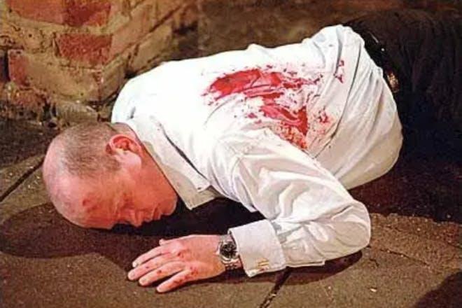 Who shot Phil Mitchell